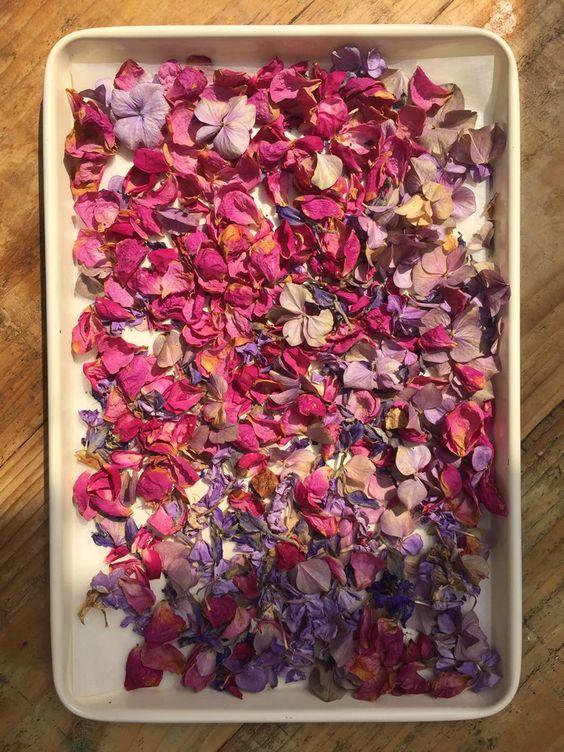 DIY Confetti for weddings