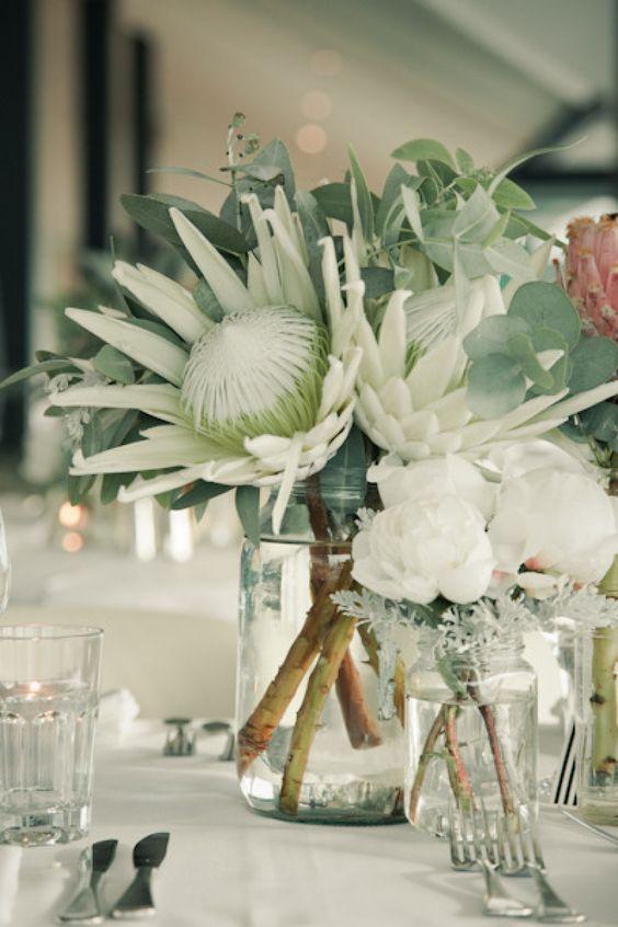 Flower Arrangements with Succulents