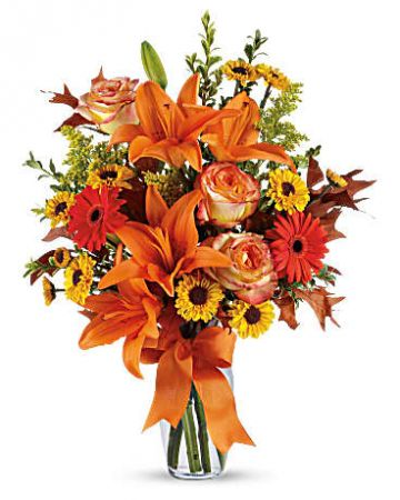 Thanksgiving Fall Bouquet
