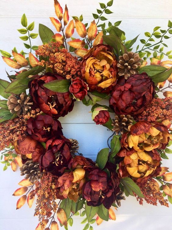 Beautiful Thanksgiving Wreaths