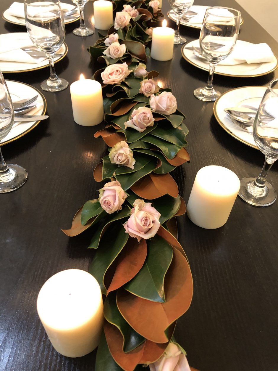Thanksgiving table arrangements