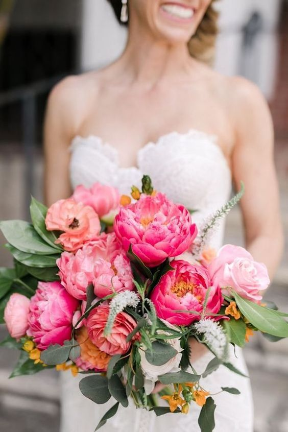 Peonies wedding Flowers