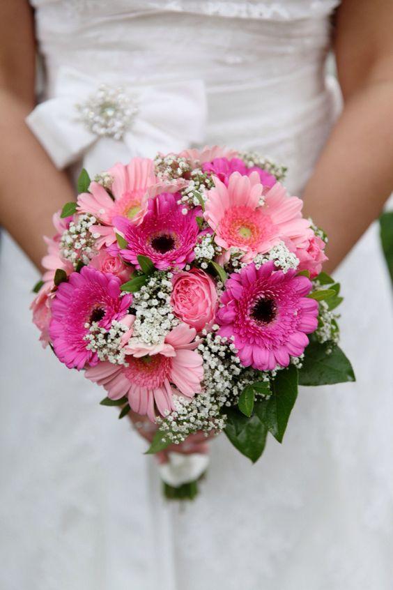 Gerbera Daisies Wedding Flowers