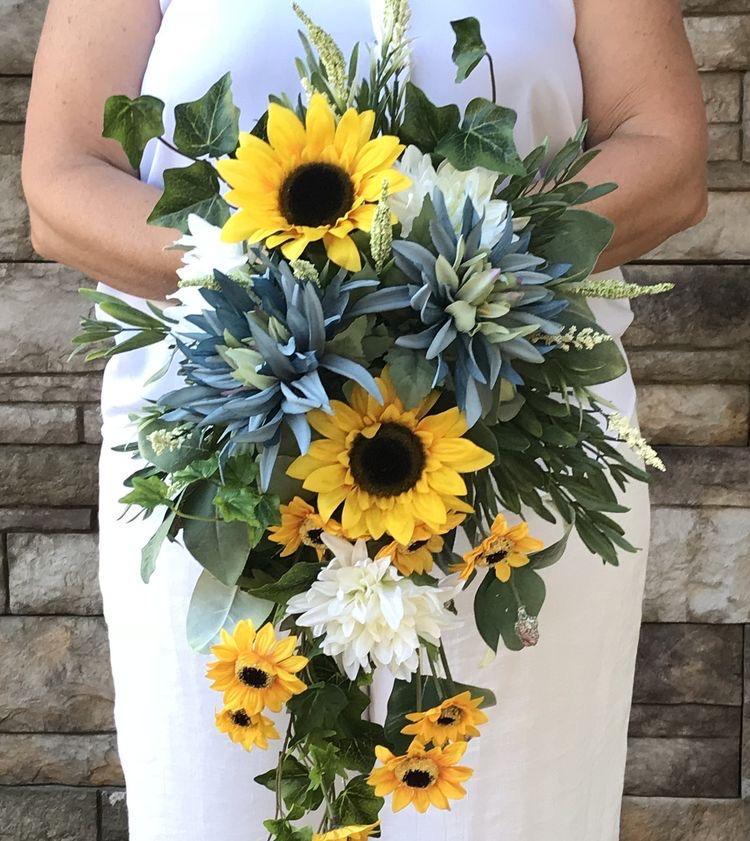 Sunflowers Wedding Bouquet