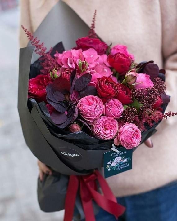Rose Centerpiece Valentine's Day