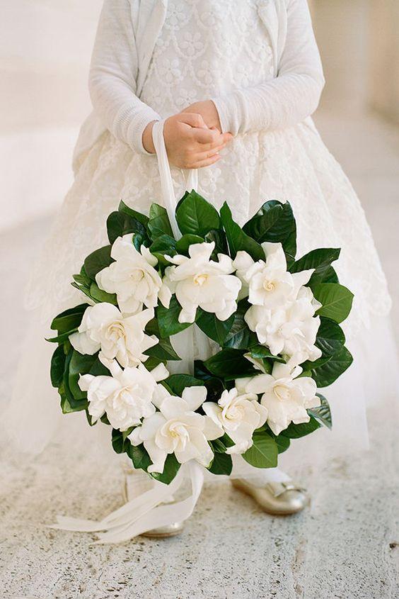 Gardenias wedding flowers