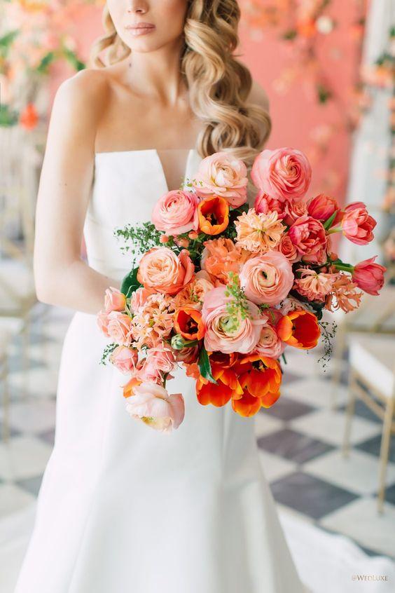 Coral Wedding Trend