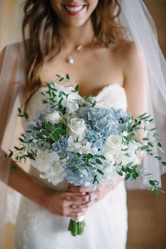 Wedding Hydrangeas Bouquet