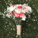 carnation wedding arrangements
