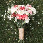 carnation wedding arrangements