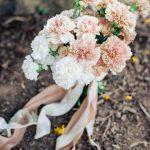 majestic peach carnation bouquet