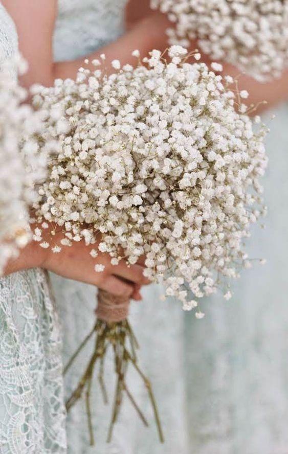 baby's breath white flowers