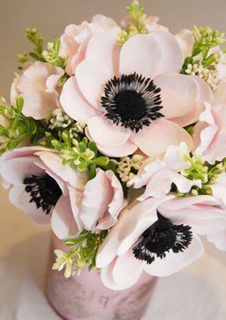 Light Pink Anemone Arrangements