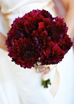 burgundy flowers for weddings