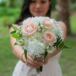 peonies and hydrangeas bouquet