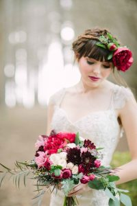 Red Wedding Flowers Bouquets